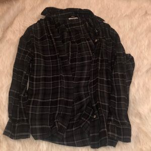 BDG Black Flannel